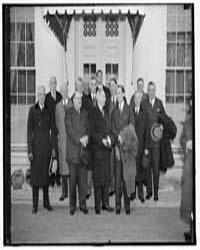 Little Business Men Meet the President. ... by Harris & Ewing