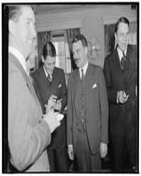 Dewey Holds Press Conference. Washington... by Harris & Ewing