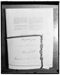 French and American Treaty from 1922, Ph... by Harris & Ewing