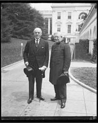 Men at White House, Washington, D.C., Ph... by Harris & Ewing
