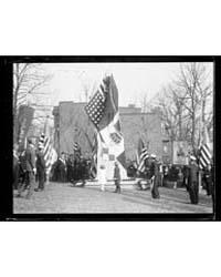 Ceremony at Dante Memorial, Washington, ... by Harris & Ewing