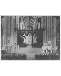 National Cathedral Interiors ; Rood Scre... by Horydczak, Theodor