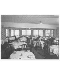 Chevy Chase Club. Dining Room Bay Window... by Horydczak, Theodor
