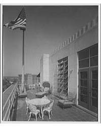 Editors Kiplinger Building. Deck on Roof... by Horydczak, Theodor
