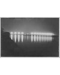 Memorial Bridge. Memorial Bridge at Nigh... by Horydczak, Theodor
