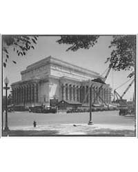 National Archives. Exterior of National ... by Horydczak, Theodor