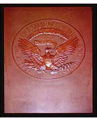 White House Interiors ; President's Seal... by Horydczak, Theodor