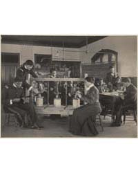 The Cheese Press Screw, Students Studyin... by Johnston, Frances Benjamin