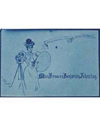 Portrait Placecard for Frances Benjamin ... by Frances Benjamin