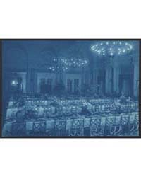 Willard Hotel Dining Room Prepared for B... by Johnston, Frances Benjamin