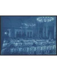 Willard Hotel Dining Room Prepared for B... by Johnston, Frances Benjamin