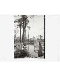 Abdul Baha Garden, Acre. Water Terrace, ... by Johnston, Frances Benjamin