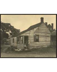 Cabin on Alley by Fall Run, Scott's Hill... by Johnston, Frances Benjamin