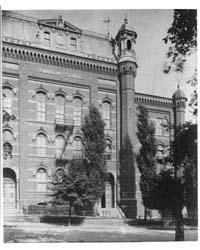 Facade of Franklin Schoo, Photograph Num... by Johnston, Frances Benjamin