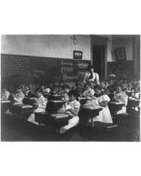 School Girls in Sewing Class, Photograph... by Johnston, Frances Benjamin