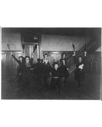 Female Students Exercising with Bowling ... by Johnston, Frances Benjamin
