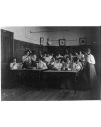 Science Class, Normal School, Photograph... by Johnston, Frances Benjamin
