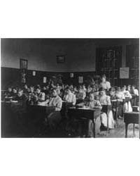 Pupils in Class, 4Th Division, Photograp... by Johnston, Frances Benjamin
