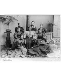 Mrs. Clevel with Ladies of the Cabinet, ... by Johnston, Frances Benjamin