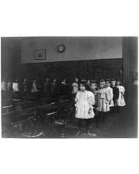 Children Marching Around the Classroom, ... by Johnston, Frances Benjamin