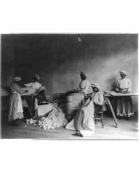 African American Students in Mattress-ma... by Johnston, Frances Benjamin