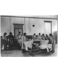 Laundry Class, Carlisle Indian School, C... by Johnston, Frances Benjamin