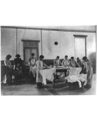 Laundry Class, Carlisle Indian School, C... by Johnston, Frances Benjamin