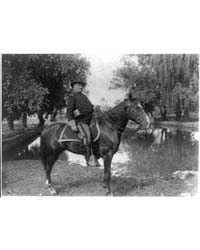 Col. Richard Henry Pratt on Horseback, F... by Johnston, Frances Benjamin