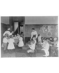 Science Classroom Scene, 7 or 8 Year-old... by Johnston, Frances Benjamin