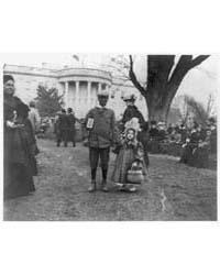 D.C. Wash., White House, Negro Boy Holdi... by Johnston, Frances Benjamin