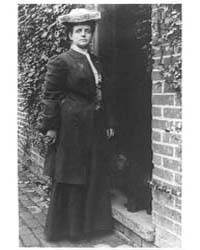 Frances Benjamin Johnston, in Doorway wi... by Johnston, Frances Benjamin