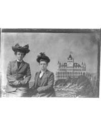 Frances Benjamin Johnston, with Maddie H... by Johnston, Frances Benjamin