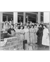 Wooden Box Industry, Female Workers Posi... by Johnston, Frances Benjamin