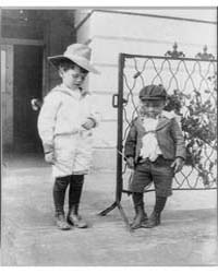 Quentin Roosevelt and Roswell Newcomb Pi... by Johnston, Frances Benjamin