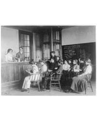 Students in a Chemistry Class Observing ... by Johnston, Frances Benjamin