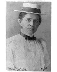 Ida Minerva Tarbell, 1857-1944, Photogra... by Johnston, Frances Benjamin