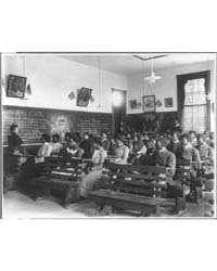 History Class, Tuskegee Institute, Tuske... by Johnston, Frances Benjamin