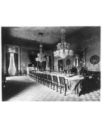 White House, State Dining Room, Photogra... by Johnston, Frances Benjamin