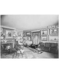 Interior of Parker Mann House, Washingto... by Johnston, Frances Benjamin