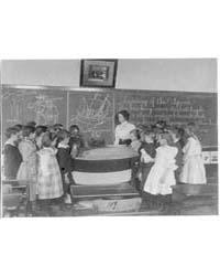 Wash., D.C. Public School Classroom Scen... by Johnston, Frances Benjamin
