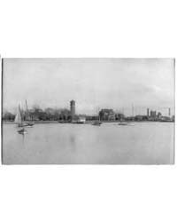 Hampton Institute Campus from Offshore S... by Johnston, Frances Benjamin