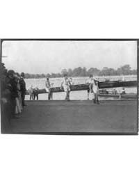 8-oar Shell Race Between Harvard and Cam... by Johnston, Frances Benjamin