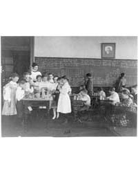 Classroom Scene in Washington, D.C. Elem... by Johnston, Frances Benjamin