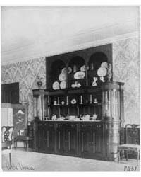 Ornate Interiors of Ch Ler Hale House, 1... by Johnston, Frances Benjamin