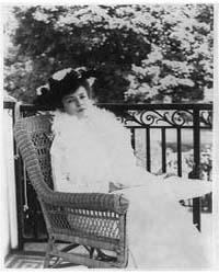 Alice Roosevelt Longworth, Photograph Nu... by Johnston, Frances Benjamin