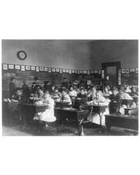 Children in School in Washington, D.C., ... by Johnston, Frances Benjamin