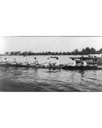 An Eight-oared Shell Boat and Crew--race... by Johnston, Frances Benjamin