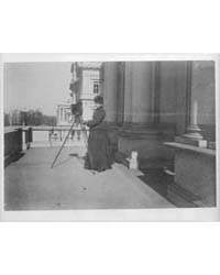 Frances Benjamin Johnston with Camera on... by Johnston, Frances Benjamin