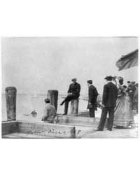 Group of Well-dressed People on Dock Dur... by Johnston, Frances Benjamin