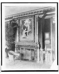 Interior with Bouguereau's Flight of Lov... by Johnston, Frances Benjamin